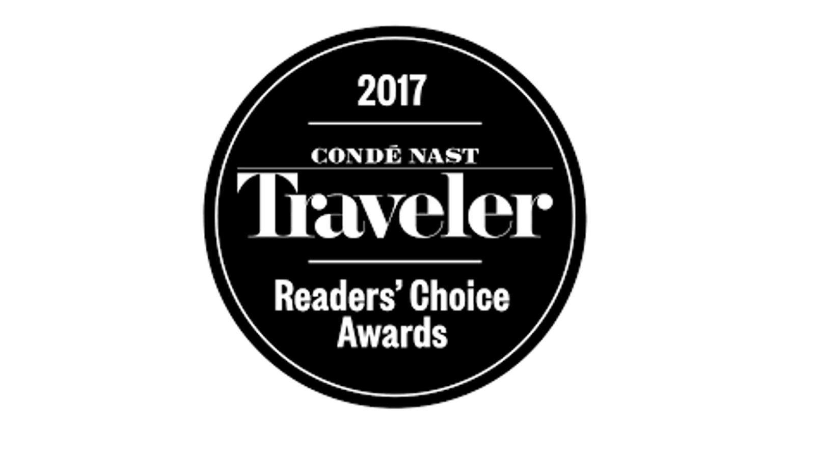 Conde Nast Travelers - Readers' Choice Awards