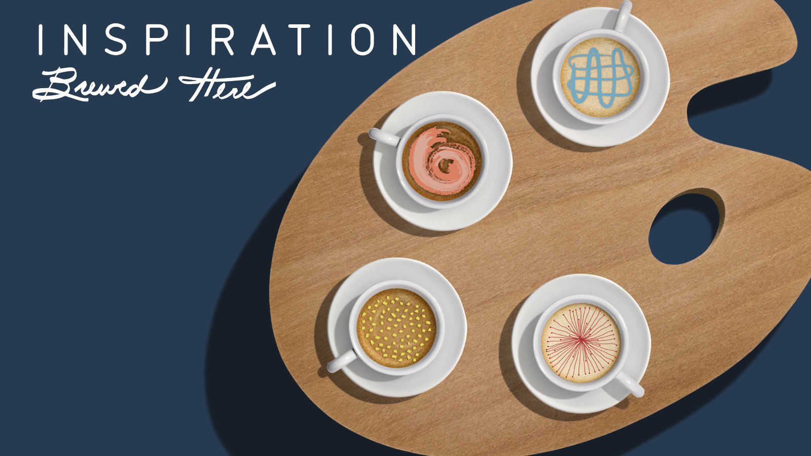 Inspiration Brewed here | Latte art and coffee culture