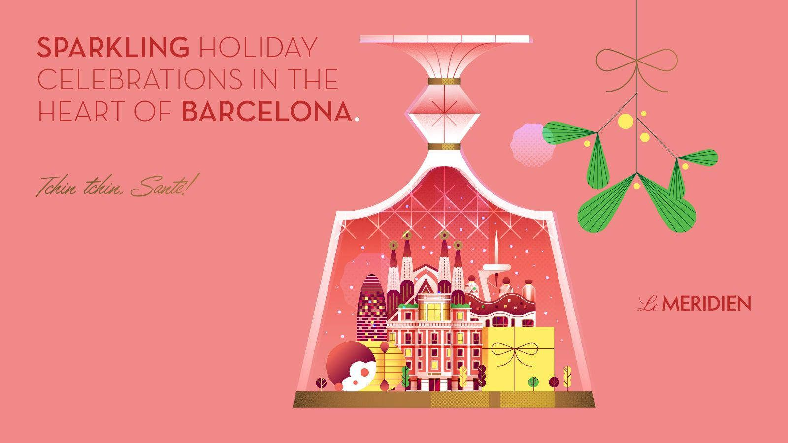 Winter Holidays at Le Méridien Barcelona