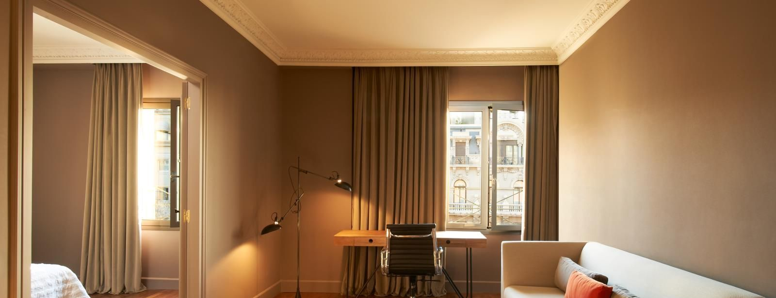 Suite ideal for family at Le Méridien Barcelona