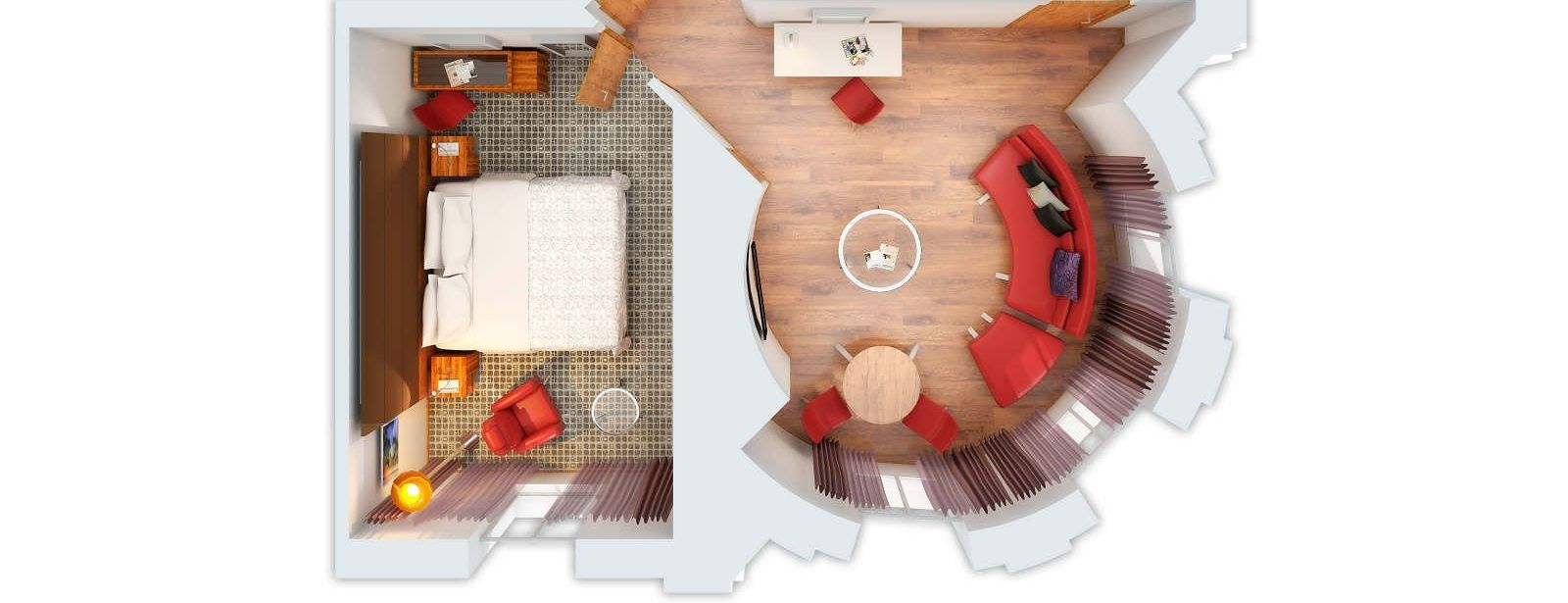 Prestige Suite Floor Plan